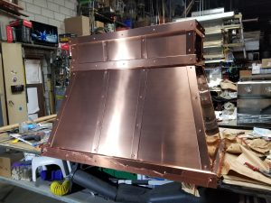 Polished Copper Hood