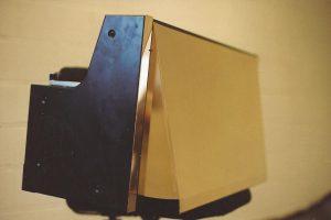 Brass Flip Hood