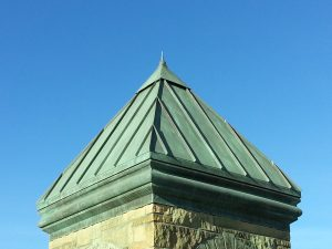 Copper Roof with Chemical Treatment