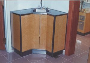 Metal Base with Stainless Steel Trim and Tops