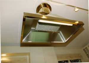 Brass Hood With Stainless Steel Iners