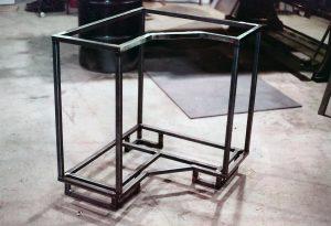 metal base ss trim